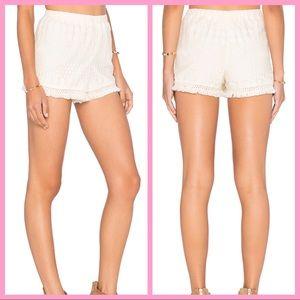 "JACK BY BB DAKOTA | ""Juniper"" Cream Lace Shorts"
